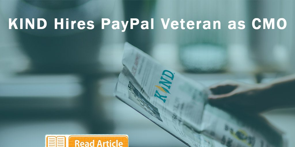KIND Financial Welcomes Aboard PayPal Veteran As New CMO
